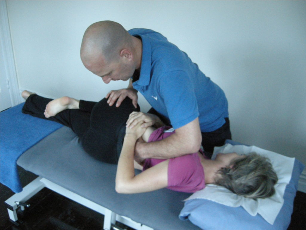 Image of how Osteopathy helps with back pain